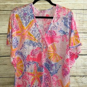 Linen Lilly Beach cover up